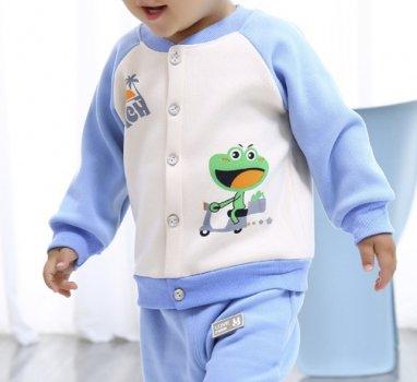 Спортивний костюм для хлопчика Колір блакитний