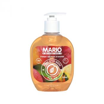 Жидкое крем-мыло MARIO 300мл (насос) Персик