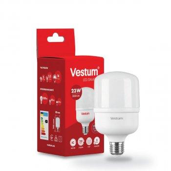 Світлодіодна високопотужна лампа Vestum T80 23W 6500K 220V E27 1-VS-1601
