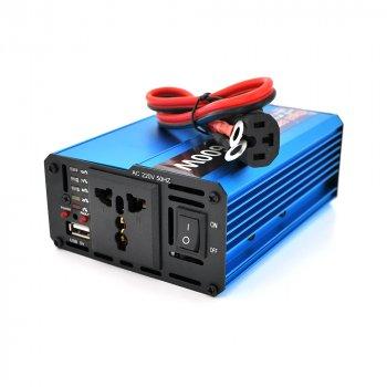 Інвертор напруги Voltronic, 600W, 60/220V, approximated, 1 універсальна розетка, клеми + USB YT-600W-CI60V