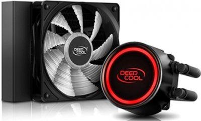 Система рідинного охолодження DeepCool Gammaxx L120 T Red