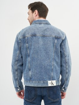 Джинсова куртка Calvin Klein Jeans Regular Denim Jacket J30J317758-1BJ Denim Dark