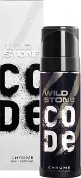 Туалетная вода для мужчин Wild Stone Code Body Perfume Chrome 120 мл (8904006302521)