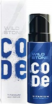 Туалетная вода для мужчин Wild Stone Code Body Perfume Titanium 120 мл (8904006306208)