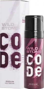 Туалетная вода для мужчин Wild Stone Code Body Perfume Iridium 120 мл (8904006307700)