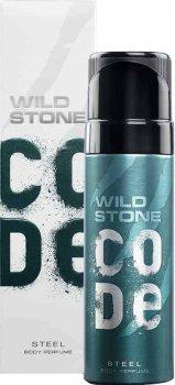 Туалетная вода для мужчин Wild Stone Code Body Perfume Steel 120 мл (8904006302507)