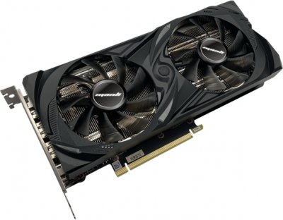 Manli PCI-Ex GeForce RTX 3060 Twin 12 GB GDDR6 (192 bit) (1320/15000) (HDMI, 3 х DisplayPort) (N63030600M2500)