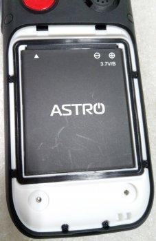Мобильный телефон Astro B200 RX Black/White (357523039155601) - Уценка
