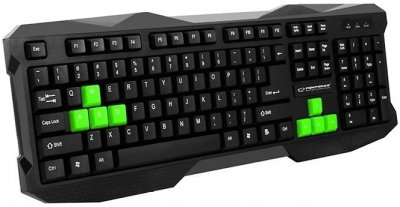 Клавиатура Esperanza EGK102 EGK102GUA Green USB