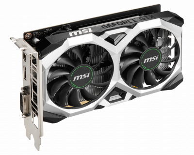 Відеокарта MSI VENTUS XS OC GeForce GTX 1650 4Gb GDDR6 128-bit (GTX 1650 D6 VENTUS XS OC)