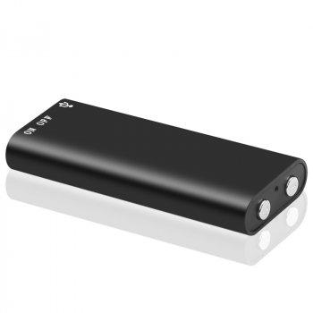 Мини диктофон c MP3 плеером 4Sport SK892 8GB Black (VR-SK892-8GB)