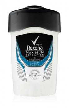 Rexona Maximum Protection Clean Scent кремовий антиперспірант ((48 h) 45 мл)