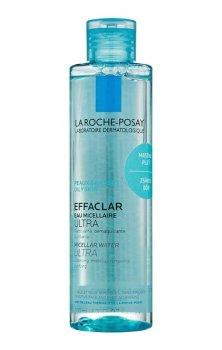 La Roche-Posay Effaclar Ultra очищаюча міцелярна вода для проблемної шкіри (200 мл)