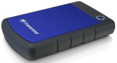 """Накопичувач зовнішний 2.5"""" USB 1TB TRANSCEND StoreJet 25H3B (TS1TSJ25H3B)"""