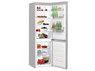 Холодильник з морозильною камерою Indesit LI8 S1 X