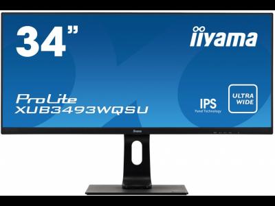 Монитор Iiyama ProLite XUB3493WQSU-B1