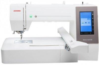 Вишивальна машина Janome Memory Craft 550E