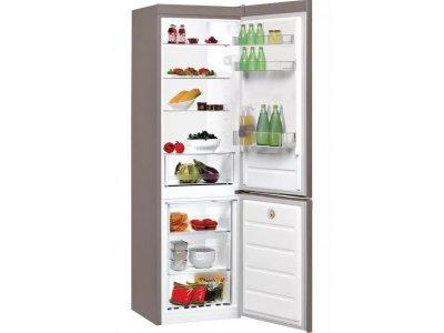 Холодильник з морозильною камерою Indesit LR8 S2 X B