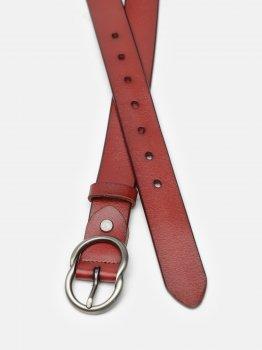 Женский кожаный ремень Laras CV10ZK-002-brown Коричневый (ROZ6400031929)
