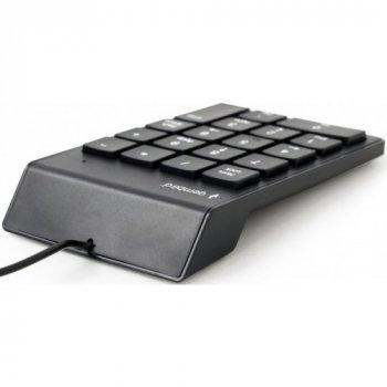 Цифрова клавіатура Gembird KPD_U_02 Black USB
