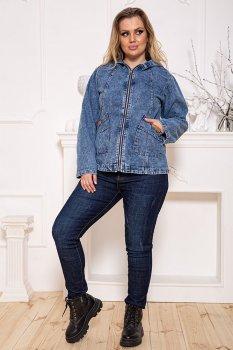 Джинсовая куртка цвет Синий размер FG_03361