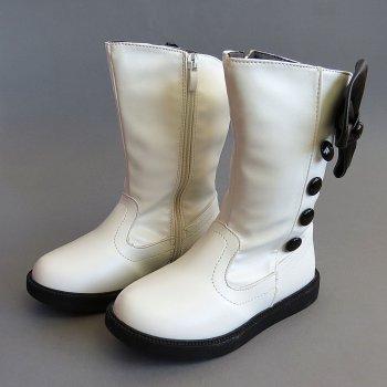 Демісезонні чоботи Fashion shoes для дівчинки Білі 11747