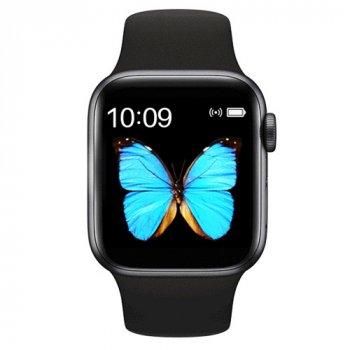 Смарт Годинник Smart Watch T500 Plus Фітнес браслет Голосовий виклик Black