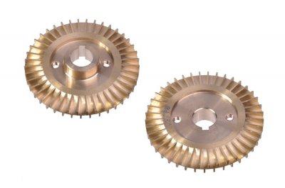 Крильчатка (робоче колесо) для насоса, латунна d=14/70, шпонка