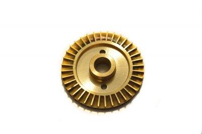 Крильчатка (робоче колесо) для насоса, латунна d=12/60, лиски