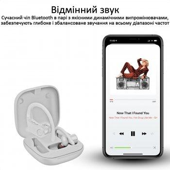 Спортивні TWS навушники Promate Motive Bluetooth 5 White (motive.white)