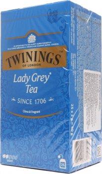 Упаковка чая черного Twinings Lady Grey 2 г х 25 шт (70177077198)