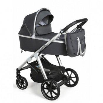 Коляска Baby Design BUENO 217 GRAPHITE (без вишивки)