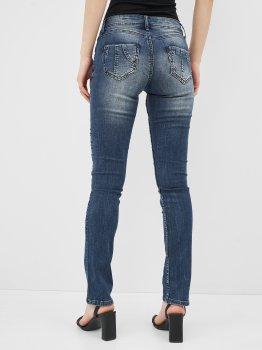 Джинсы Desigual 71D2JE9/5053 Синий джинс с принтом