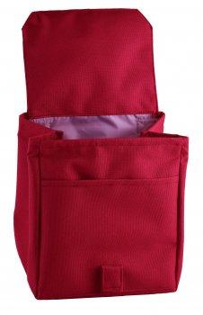 Термо сумка Dolphin Ланч бег з вишивкою My lunch. 20х17х17 см 3,2 л Малиновий