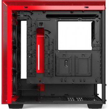 Корпус NZXT H710 Matte Black-Red (CA-H710B-BR) без БЖ