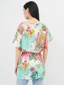 Блузка Desigual 72NL1D3/4101 Комбинированная