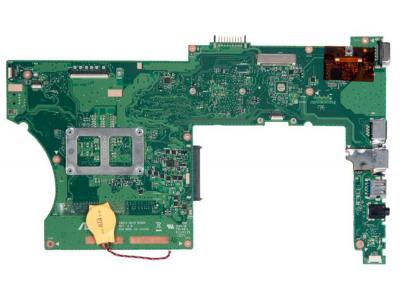 Материнська плата (X401A 60-N30MB1103) для ноутбука Asus X401, X401, X401A, X401U (INTEL, Вбудована графіка, HM70) Розборка + Процесор (09020) Б/В