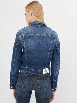 Джинсова куртка Calvin Klein Jeans Cropped 90'S Denim Jacket J20J215381-1BJ Denim Dark