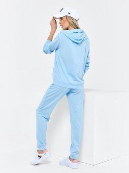 Спортивний костюм ISSA PLUS 11440 Блакитний