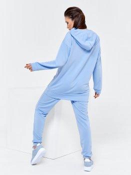 Спортивний костюм ISSA PLUS 12397 Блакитний