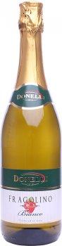Фраголіно Donelli Fragolino Bianco біле напівсолодке 0.75 л 7.5% (8008920990540)