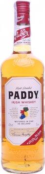 Виски Paddy Irish Whiskey 3 года выдержки 0.7 л 40% (1210000100771)
