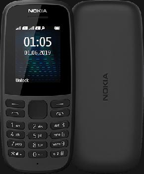 Мобільний телефон Nokia 105 TA-1203 Single Sim 2019 Black