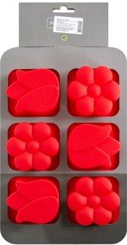 Силиконовая форма для выпечки Krauff Dainty 26.5 x 17.2 x 3 см (26-184-070)