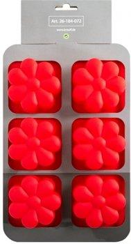 Силиконовая форма для выпечки Krauff Dainty 27x17x3.5 см (26-184-072)