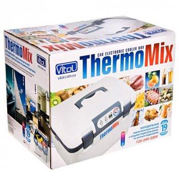 Автохолодильник термоелектричний Vitol 19 л. BL-219-19L DC/AC 12/24/220V 60W
