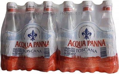 Упаковка минеральной негазированной воды Acqua Panna 0.5 л х 24 бутылки (8000815095255)
