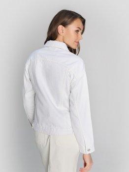 Джинсовая куртка O'STIN LB1W82-02 Молочная