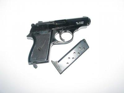 Пистолет стартовый EKOL MAJOROV черный