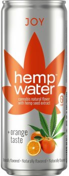 Слабогазована вода Моршинська Hemp Water Joy Канабіс-апельсин 0.33 л (4820000431613_1)